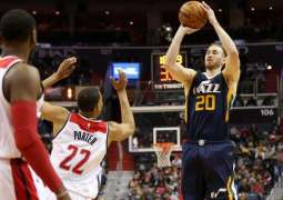 NBA: Hayward powers Jazz past Wizards