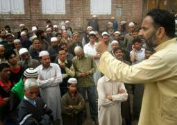 Kashmiri martyrs' blood will not go waste: Waza