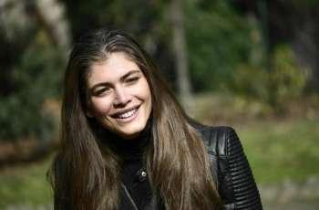 Brazil transgender model Sampaio 'fighting for better world'