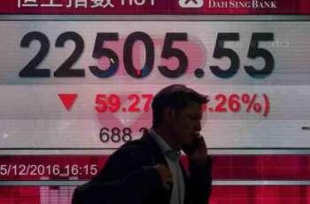 Hong Kong stocks extend losses at start of week
