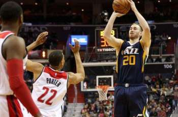 NBA: Hayward powers Jazz past Wizards