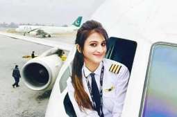 Pictures of PIA Woman pilot viral on web