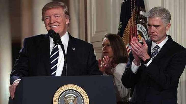 Trump hypes Supreme Court announcement