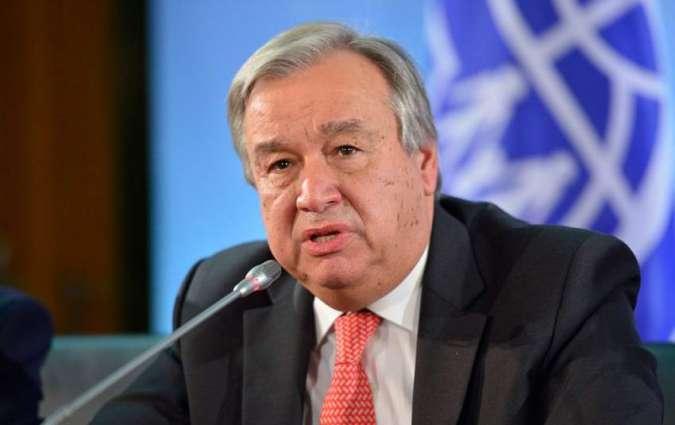 U.N. chief warns border control policies must not discriminate