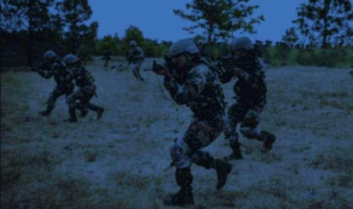 3 security personnel injured, 1 terrorist killed