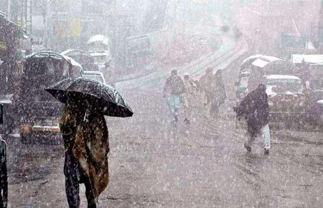 Met predicts rain with snowfall