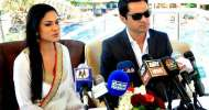 Veena Malik's husband apologizes to wife for any inconvenience