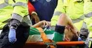 Football: Coleman leg break made me 'sick' - Williams