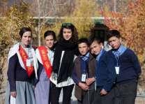 پاکستانی نوجوان کُڑی نوکری چھڈ کے ہنزہ وچ بالاں نوں پڑھان پہنچ گئی