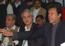 ڈاکٹر عاصم، ایان علی دی رہائی تے شرجیل دی واپسی ڈیل اے: عمران خان  پاناما کیس توں بچن لئی وی نواز تے آصف وچ ڈیل ہو گئی اے، ڈاکٹر عاصم اُتے 480ارب رُپئے دی کرپشن دا الزام اے، ضمانت اُتے چپ نہیں رہ سکدے: پریس کانفرنس