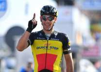 Cycling: Kristoff wins De Panne stage, Gilbert holds lead