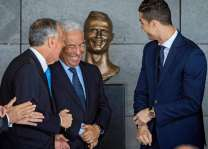 Football: Airport renamed in Ronaldo honour -- and 'bizarre' bust