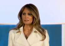 Melania Trump makes case for women's 'empowerment'