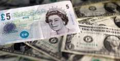 Asian markets and dollar push higher, pound weak on Brexit