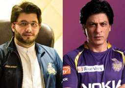 SRK proposes Calcutta Kolkata Knight Riders vs Peshawar Zalmi