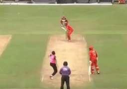 Misbah-ul-haq smashes 6 sixes in 6 balls: Hong Kong T20
