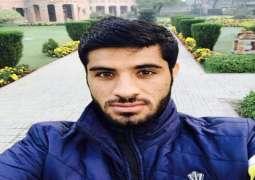 آرمی چیف نے پشاور زلمی دے نوجوان کھڈاری محمد اصغر خان نوں ملاقات لئی سد لیا