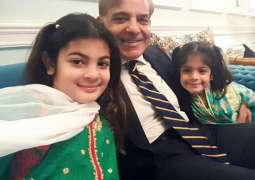 Shahbaz Sharif video message with his grand-daughters