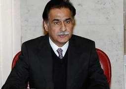 رئيس البرلمان الوطني الباكستاني يلتقي رئيس الوزراء التركي