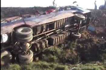 رحیم یارخان ، مسافر وین دے حادثے اچ ہک بندہ جاں بحق تے 8زخمی