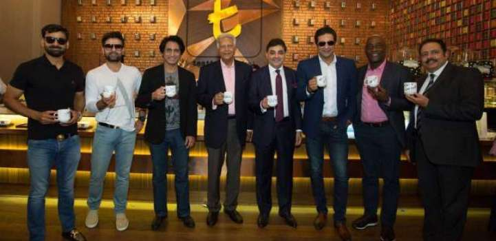 Ramiz Raja's co-founded T-Lounge in Dubai opens