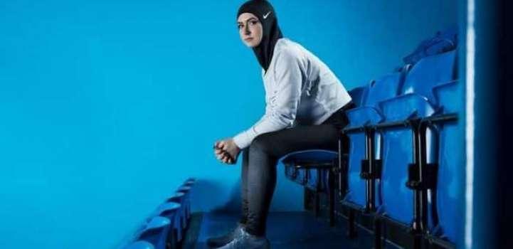 نائیکی نے مسلمان اتھلیٹس سوانیاں لئی سپورٹس حجاب متعارف کروا دِتا