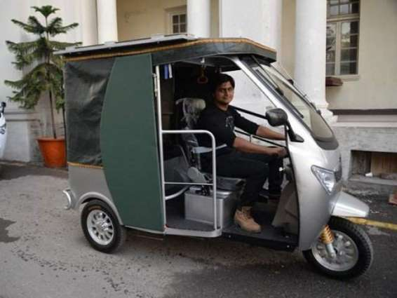 how to make hybrd auto rikshaw