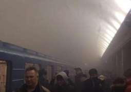 روس: میٹرو ٹرین وچ دھماکے، 10بندے ہلاک، 50زخمی: خبر ایجنسی