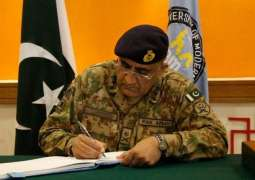 COAS signs death warrant of 30 Terrorists