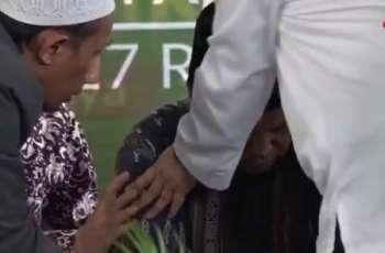 انڈونیشیا: قاری دا قرآن پاک دی تلاوت کردے کردے انتقال