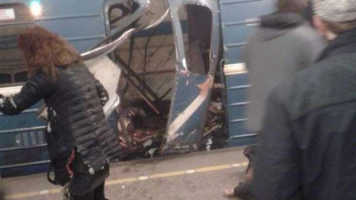 سینٹ پیٹرز برگ میٹرو سٹیشن نوں اک ہور دھماکے توں وال وال بچا لیا گیا