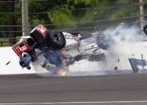 Auto Racing: Bourdais leaves hospital after Indy injuries