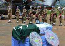 Five Pakistani peacekeepers honoured with UN medals posthumously