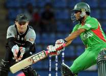 Cricket: Bangladesh v New Zealand scoreboard