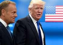 Trump meets France's Macron in Brussels: AFP journalist