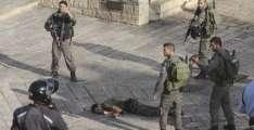د اسرائيلي عسكرو په ډزو كښې ژوبل شوې فلسطيني ماشومه په حق ورسېده