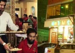 لیبر ڈے: کراچی دے اک مشہور ریسٹورنٹ نے سبھ دے دل جِت لئے