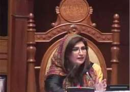 Shehla Raza directs notices for absentee MPAs