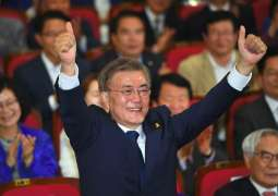 Moon begins term as S. Korea president: Election Commission