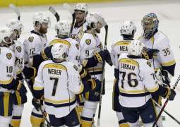 Ice Hockey: Sissons hat-trick as Nashville sink Ducks to reach first final