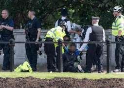 بکنگھم پیلس دے باہروں اک بندا گرفتار، چاقو برآمد: میٹرو پولیٹن پولیس