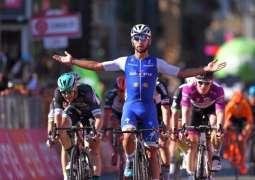 Cycling: Giro d'Italia results