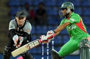 Cricket: Bangladesh v New Zealand scoreboard