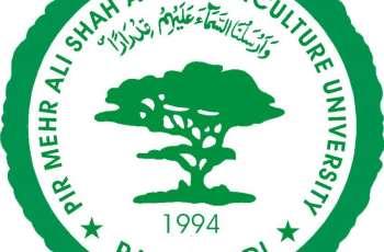 2820 graduates awarded degrees of Arid Agriculture University