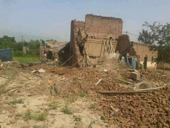 Survey of damaged houses relaunched in Bara tehsil