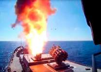 Russia warships and sub fire cruise missiles at Syria: Moscow