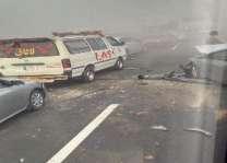 شیخوپورہ اچ ٹرالے تے کار وچال ٹکر پاروں 4 بندے جاں بحق، 2 زخمی