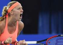 Tennis: Kvitova reaches her first grass final since Wimbledon 2014