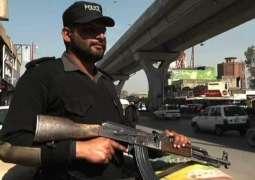 Security on high alert on Eid in Faisalabad
