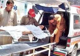 Ten hurt in Lasbella accident